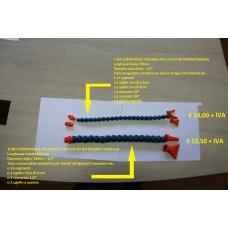 CODICE 1015 NUOVO TUBO COMPONIBILE SNODABILE PER LIQUIDI REFRIGERANTI MODELLO: T200 (350mm) + MODELLO: T201 (400mm)