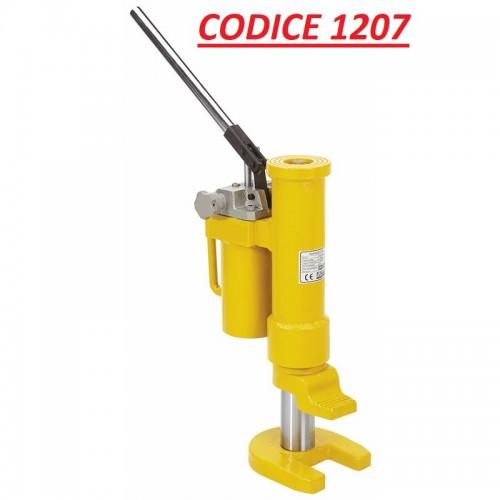 CODICE 1207 NUOVO SOLLEVATORE IDRAULICO MOD 0658 portata 10 TON