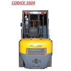 CODICE 1024  NUOVO CARRELLO ELEVATORE DIESEL SOLLEVA 35 QUINTALI COIRO PROFESSIONAL MOD FD35TJ portata 3.500 Kg