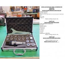 CODICE 1146 NUOVO KIT SERIE PINZE ER-32 MOD P032-18