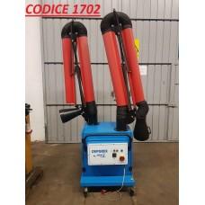 CODICE 1702 ASPIRATORE PER FUMI IDRODEPUREX MOD DEPUREX E2