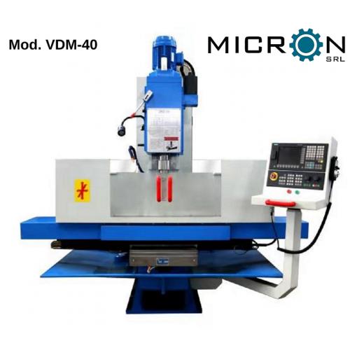 NUOVA FRESATRICE CNC VERTICALE mod. VDM-40 serie CG (codice 2087)