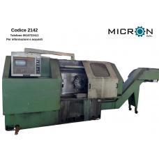 CODICE 2142 TORNIO ITERMATIC CNC SIEMES TAKISAWA mod. TS 25 CNC SINUMERIK 810
