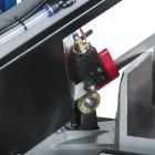 CODICE 1353 NUOVA SEGATRICE A NASTRO CON DISCESA MANUALE E IDRAULICA MOD 0273/400V TONDO TAGLIA A 0° Ø 220 mm