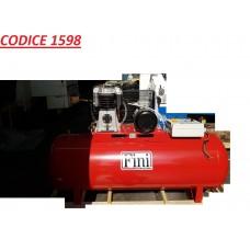 CODICE 1598 NUOVO ELETTROCOMPRESSORE FINI A CINGHIA BISTADIO MOD BK119-500F-7,5T