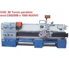 CODICE 98 NUOVO TORNIO PARALLELO CON FRIZIONE MECCANICA MOD M-CS6250B/1500